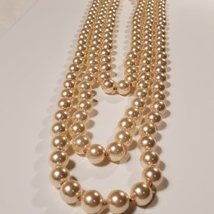 WHBM Multistrand Pearl Necklace